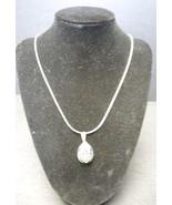 Vintage Designer Judith Jack Sterling Marcasite & Crystal Necklace - $60.79