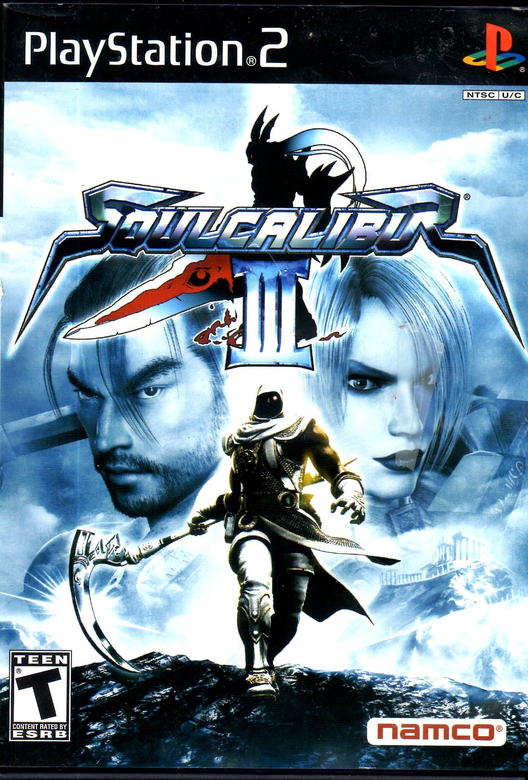 PlayStation 2 - Soulcalibur III (Complete)