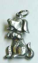 Cartoon CUTE puppy dog pendant charm Silver Jewelry - $13.41