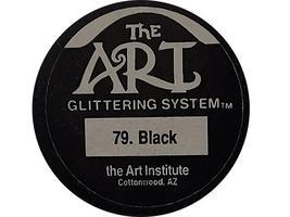 The Art Institute Glittering System, Black Glitter #79 image 2
