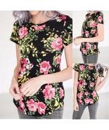 2018 Faashion Women Ladies Summer O Neck Short Sleeve Irregular Slim Fit... - $27.65