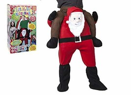 Santa Design Lift Me Up Dress Up Costume W/shoes In Box - $52.59