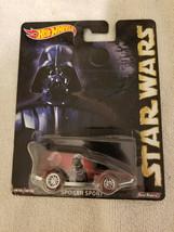 2015 Hot Wheels Pop Culture Star Wars Darth Vader Spoiler Sport - $13.95