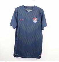 Nike Dri-Fit Mens Medium 2014 Prematch Team USA World Cup Soccer Jersey ... - $39.55