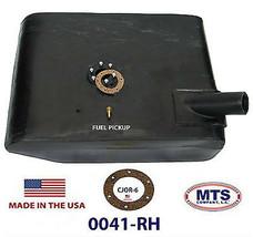 PLASTIC FUEL TANK MTS 0041-RH FITS 55-72 JEEP CJ5 CJ6 UNDER PASSENGER SEAT image 2