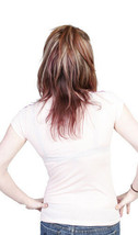 Famous Stars & Straps Donna Adolescenti Rosa Emily Stampa Tigre T-Shirt Nwt image 2