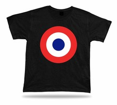 France Air Force - Armee de l'air Support troops Shirt Military Insignia Roundel - $7.57