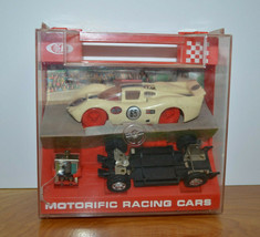 Vintage Ideal Motorific Racing Cars Slot Car With Case 1967 - $81.65