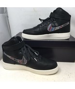 NIKE AIR FORCE I HIGH '07 LV8 AFRO PUNK 806403 006 MEN'S SIZE 11 Worn On... - $103.79
