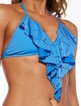 NWT L SPACE Monica Wise XS swimsuit bikini 2PC taboo bottom Aliza laser cut top image 3