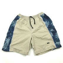 VINTAGE Diesel Men's Beachwear Trunks Size L Large Cotton Cargo Shorts S... - $22.46