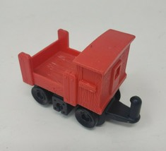FISHER PRICE GEO TRAX RED & BLACK CART VEHICLE REPLACEMENT PART PIECE - $9.50