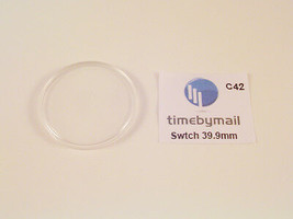 For SWATCH Watch Replacement Plexi-Glass Crystal 39.9mm No Date Spare Pa... - $11.07
