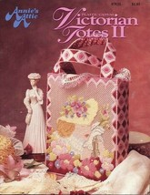 Victorian Totes II (6) Annie's Plastic Canvas PATTERN/INSTRUCTIONS Leaflet - $6.27