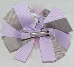 Unbranded Infant Toddler Purple Hat Stretch Removable Bow Multicolor image 8