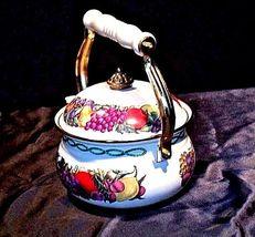 TeaPot AA18-1246 VintageCornuCopia image 5