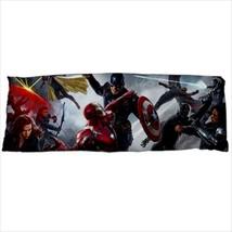 dakimakura avengers civil war body hugging pillow case cover - $36.00