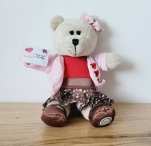 Starbucks Bearista Bear Valentines Day Plush True Love Girl Teddy 10 Inches - $9.49