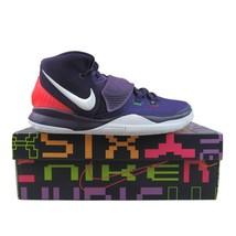 Nike Kyrie 6 GS Big Kids Basketball Shoes 7Y Grand Purple/White NEW BQ5599-500 - $79.15