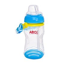 Leakproof Trainer Cup Silicon Sippy Cups BPA Free,Blue B - $19.01