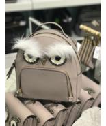 Kate Spade WKRU5674 Star Bright Owl Tomi Backpack $329 Grey NWT - $154.43