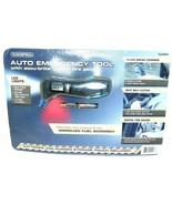 Auto Multi Emergency Tool Glass Break,Tire Gauge Belt Cutter Pressure Ga... - $7.81