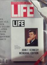 Life Magazine winter 1988-25 year anniversary of John F Kennedy Memorial... - $4.41