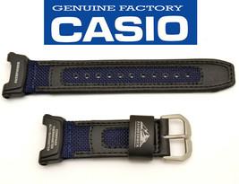 GenuineCASIO watch band STRAP PROTREK Pathfinder black BLUE PAG-240B PAG... - $34.95