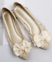 Champagne Lace up Shoes,Shoe lace styles,Lace Up Shoes/Flats,Lace Ballet Flats - $39.99