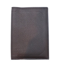 Brioni Men's Mahogany Calf Leather Passport Case Holder with Logo, Free ... - $416.03