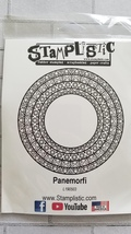 Paneformi. Circle.  Stamplistic Layering Stamps. Stained Glass.  Card making image 2