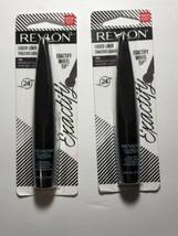 New In Package 2) Revlon Exactify  Liquid Liners # 102 / Sparkling Black - $11.19