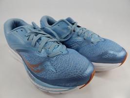 Saucony Kinvara 9 Size 8 M (B) EU 39 Women's Running Shoes Blue Copper S10418-30