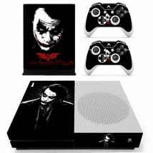 Xbox one S Slim Console Skin Vinyl Decals Stickers Joker DC Comic Horror Covers - $12.00