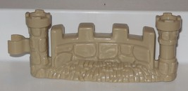 Fisher Price Current Little People Castle Fence Piece FPLP #2 - $3.00