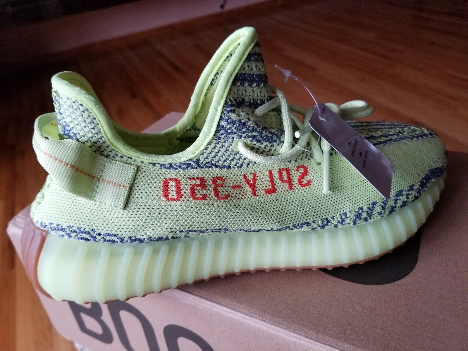 e9bdc8e2cd5 ... new zealand adidas yeezy boost 350 v2 semi frozen yellow sply 350 brand  new in box
