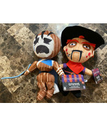 Showdown Bandit Characters Bandit And Grieves 8-Inch Plush NWT - $11.88