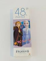 "Disney Frozen II 2, Jigsaw Puzzle 48 Pieces, 9.1 x 10.3"" Elsa & Anna, Ag... - $6.89"