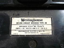 Westinghouse 20amp 600V 3P Gebraucht Formteile Hülle ab Schutzschalter - $98.48