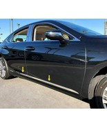 fit:2019-2020 Nissan Altima Flat Body Side Molding Trim Stainless Steel ... - $103.99