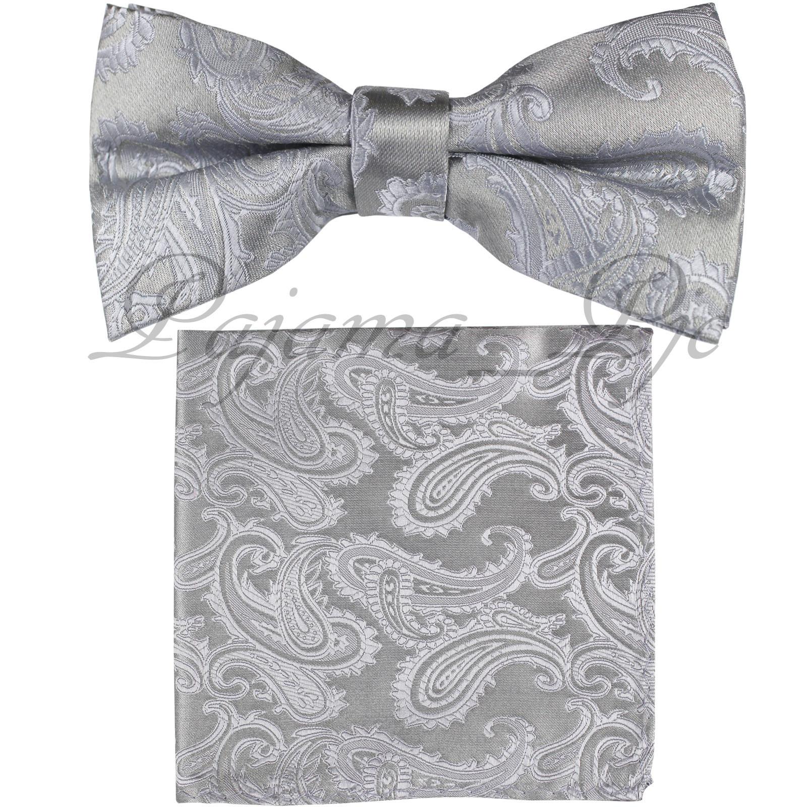 New Men/'s Polyester pocket square hankie only dark grey prom wedding
