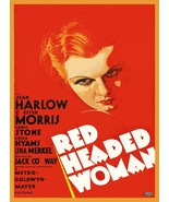 Decorative Poster.Interior wall art room design.Red Headed Woman movie.1... - $9.90+