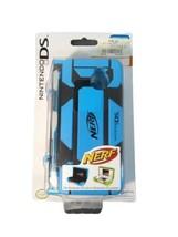 NERF DUAL ARMOR Case for Nintendo 3DS DSi DS Lite Blue & Black PDP Hasbro - $23.36