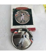 Hallmark Keepsake 1996 Satchel Paige Ornament Collectors Baseball Clevel... - $11.88