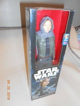 "NEW Star Wars 12"" Sergeant Jyn Erso Jedha Action Figure Rogue 1 w/ gun C... - $8.42"