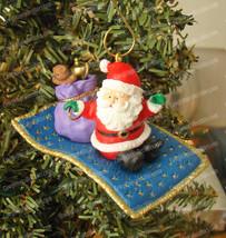 Hallmark, Santa's Magic Carpet Ride Ornament (QX588-3) 1994 - $9.90