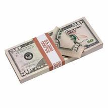 PROP MOVIE MONEY - New Style $50 Full Print Prop Money Stack - $14.00+