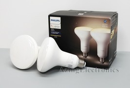 Philips Hue White BR30 Bluetooth Smart LED Bulb (2-Pack) - White  - $22.99