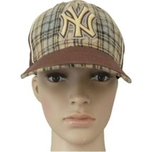 New Era 59FIFTY Baseball Hat Cap Fitted New York Yankees MLB Sz 7 Plaid ... - $19.99