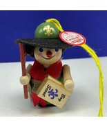 Steinbach Christmas ornament W Germany Brafent wood nutcracker Boy Scout... - $69.25